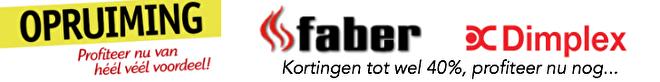 korting op de Faber Dimplex Prism 50 BLF5051