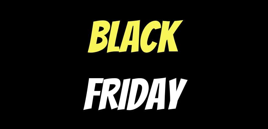 Black Friday actie elektrische haarden