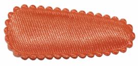 kniphoesje satijn effen neon oranje 3 cm