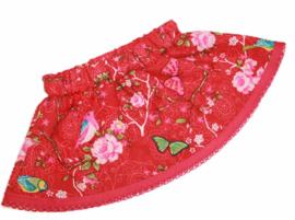 rokje babyborn pop 43 cm butterflies & flowers