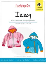 Farbenmix papier patroon tussenjas Izzy  86/92 - 158/164