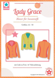 Farbenmix naaipatroon Lady Grace: voor dames 32-50