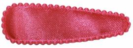 kniphoesje satijn effen fuchsia 5 cm