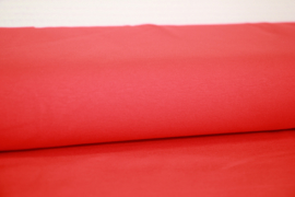 Tricot helderrood,  per 25cm