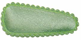 kniphoesje lichtgroen satijn 3 cm
