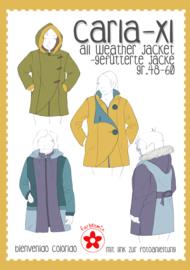 Farbenmix naaipatroon CARLA XL voor dames  (48 - 60)