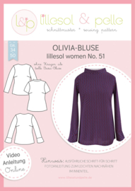 Lillesol & Pelle women blouse Olivia maat 34 t/m 50