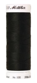 Amann Seralon machinegaren kleur Obsidian 1362