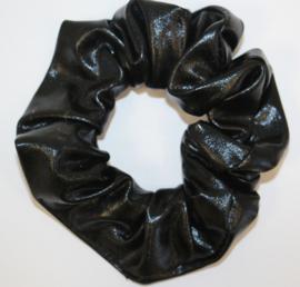 Scrunchie glimmend zwart