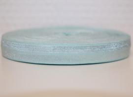 Elastisch band lichtblauw 16 mm per 0,5 meter