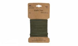 Kaart elastiek 5mm ARMY, 3 meter