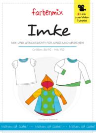 Farbenmix papier patroon IMKE 86/92 - 164/152
