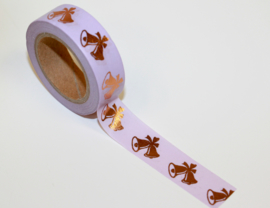 Masking tape Christmas bells