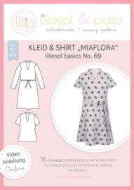 Lillesol & Pelle girls jurk en shirt Miaflora Maat 80-164