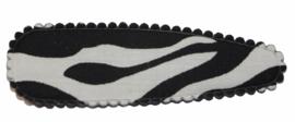 Kniphoesje zebra 8cm, per stuk