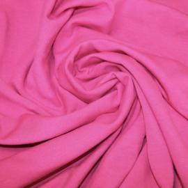 Tricot: effen fuchsia (Swafing kleur 935) per 25cm