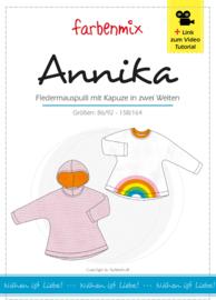 Farbenmix papier patroon Annika 86/92-158/164