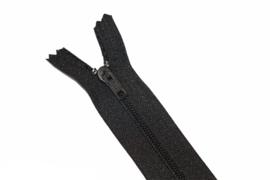 Nylon rits zwart niet deelbaar 15 cm