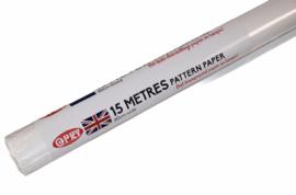 patroonpapier 15 meter, 60 cm breed