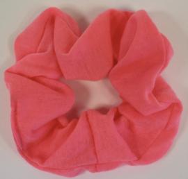 Scrunchie neon-roze