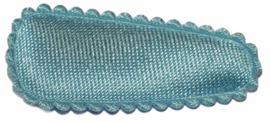 kniphoesje satijn zachtblauw 3 cm