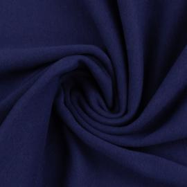 Boordstof: marineblauw (Swafing kleur 598) Rondgebreid 48 cm. Per 25 cm