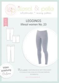 Lillesol & Pelle women legging Nr 23 maat 34 t/m 50