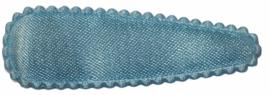kniphoesje satijn effen lichtblauw 5 cm