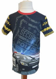 Shirt: SECURITY POLICE maat 122-146