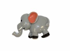Flatback olifantje  22x32mm