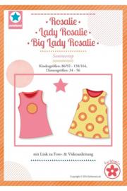 Farbenmix naaipatroon rosalie zomer top voor kinderen en dames op 1 patroon