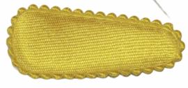 kniphoesje satijn zonnig geel 3 cm