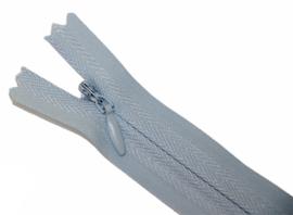 Blinde rits 35cm lichtblauw