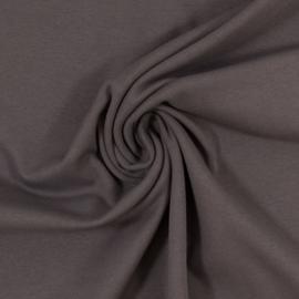 Boordstof: antraciet (Swafing kleur 790) Rondgebreid 48 cm. Per 25 cm