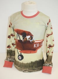 Longsleeve: Airplane 122/128-158/164