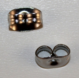 Stoppers RVS 7 x4 mm per paar