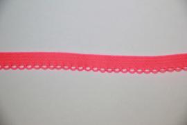 Knal-koraal elastisch kantje 9 mm, per 0,5 meter
