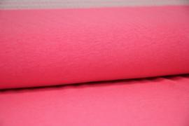 Neon roze tricot gemeleerd, 95x150 cm coupon
