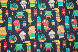 Tricot:  Monsters (Theo, Swafing) , per 25 cm