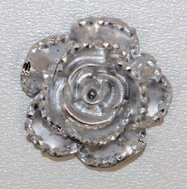 Bloem zilver 14 mm
