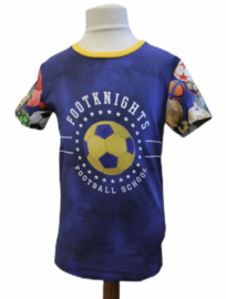 Shirt: FOOTBALL SCHOOL maat 116-146