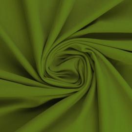 Tricot: effen mosgroen (Swafing kleur 604) per 25cm