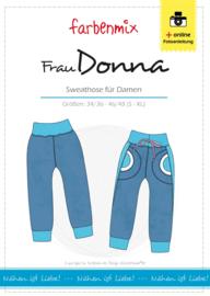 Farbenmix naaipatroon Frau Donna S-XL