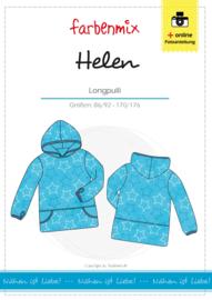 Farbenmix papier patroon trui Helen  86/92 - 170/176