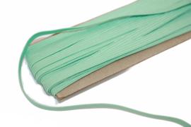 gekleurd elastiek mint 6mm, per meter