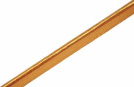 Elastisch paspelband glans/mat corn, per meter