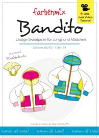 Farbenmix papier patroon Bandito maat 86 -164