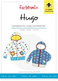 Farbenmix papier patroon Hugo maat 74 - 176