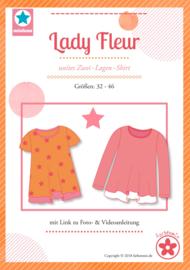 Farbenmix papier naaipatroon  lady Fleur, dames  32 - 46