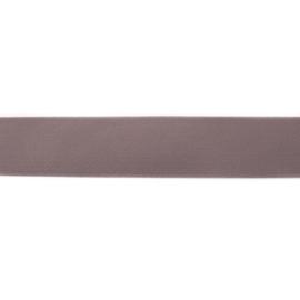 Taupe elastiek 40 mm per 0,5 meter
